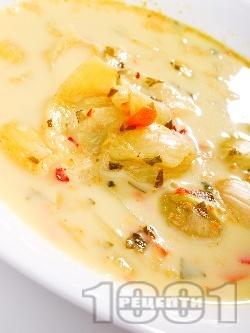 Селска лучена супа - снимка на рецептата